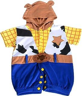 Dressy Daisy Baby Boys' Spiderman Stitch Woody Halloween Costumes Jumpsuit