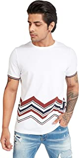 Iconic Men's 2300555 NIRVANA Cotton T-Shirt, White