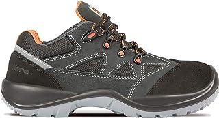 Exena 1133691113427 Chaussures de protection du travail, Noir, 42