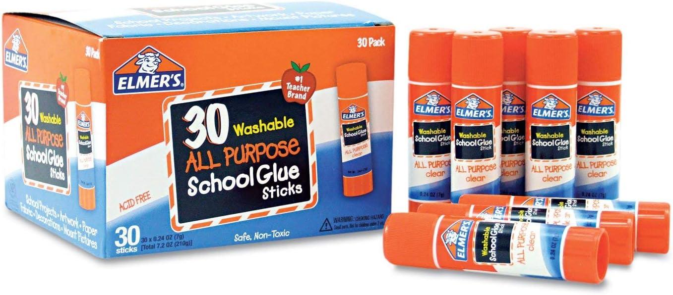Elmer's E556 Washable School 30 Special price favorite Sticks Glue Box