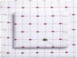 Lacoste Slice Sheet Set, Queen, Baroque Rose
