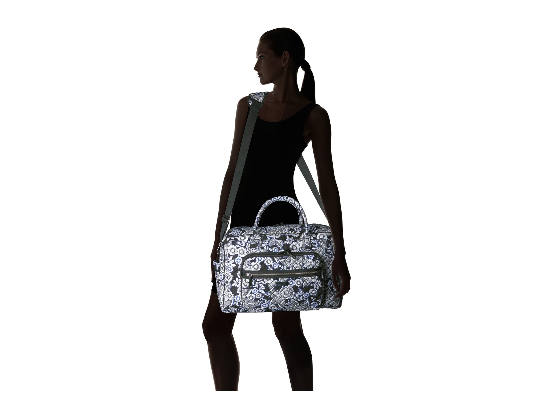 Travel Iconic Bag Weekender Vera Bradley Snow Lotus qH6txgn