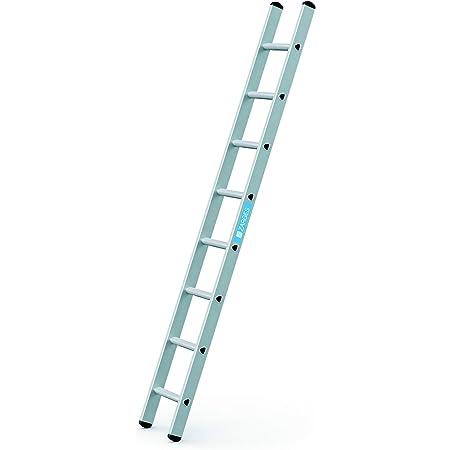 Anlegeleiter mit breiten Stufen