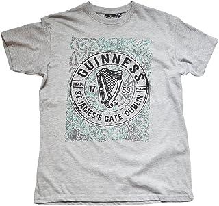 23d2a767d Guinness Men's St James Gate Dublin T-Shirt Grey