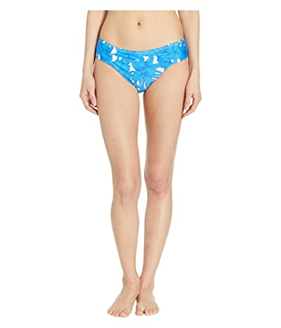 Athena Waimea Bay Blue Shirred Side Hipster Bottoms (Blue) Women