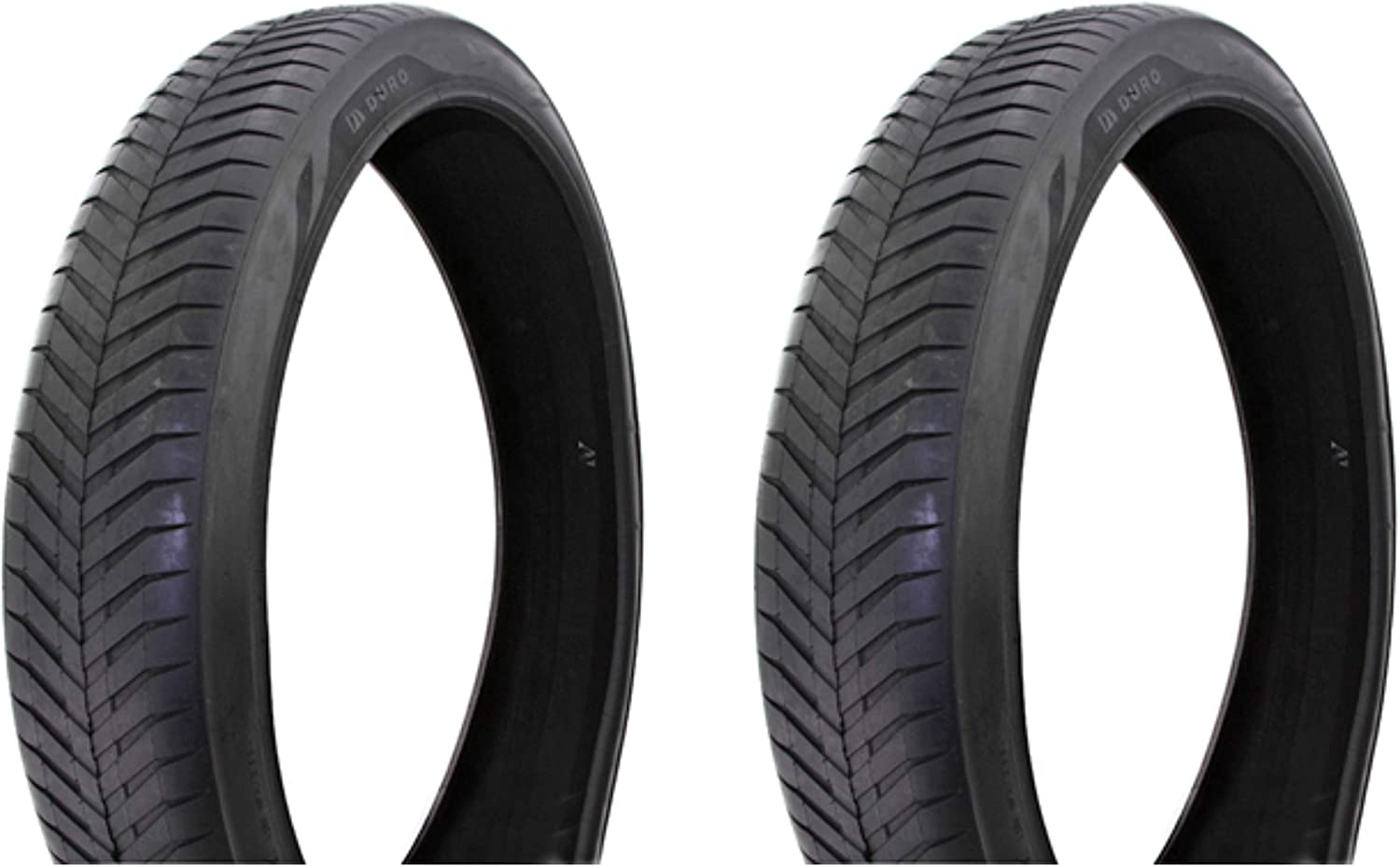 Lowrider Tire Set. 2 Tires. Two Tires Black Wholesale Duro 4