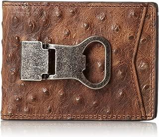 Nocona Belt Co. Mens Bi-Fold Metal Clip Wallet