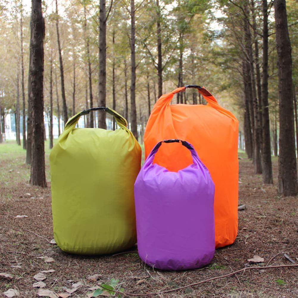 SEGRJ 10//20//40//70L Outdoor Light Swimming Waterproof Camping Rafting Storage Dry Bag Purple 10L