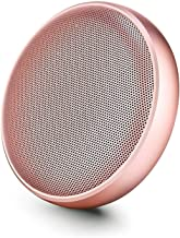 XQJJFJ Portable Bluetooth Speakers with HD Sound/ 20-Hour Playtime/Bluetooth 5.0/ Micro SD Support (Color : Pink) photo