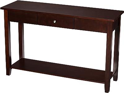SEI Furniture Royalton Console Table, Brown