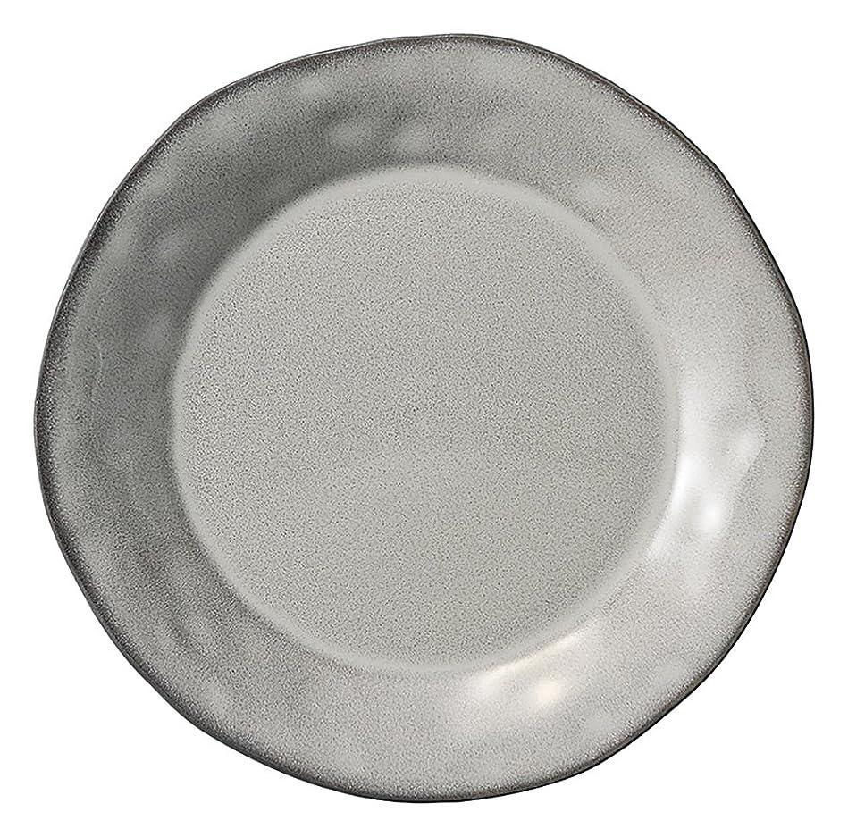 広告主設計図喉頭光洋陶器 ラフェルム プレート 19cm ストームグレー 13573006