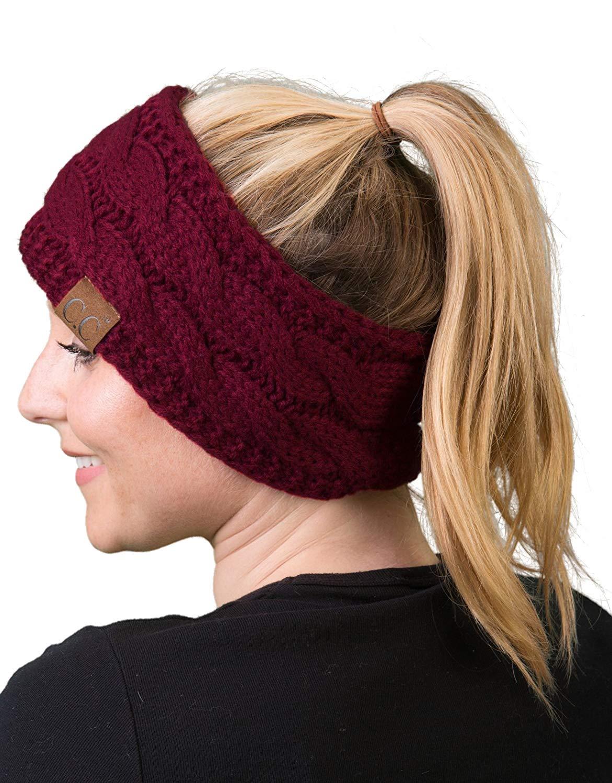 Solid Headwrap - Maroon