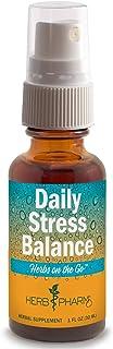 Herb Pharm Herbs on The Go Portable Spray: Daily Stress, 1 Ounce