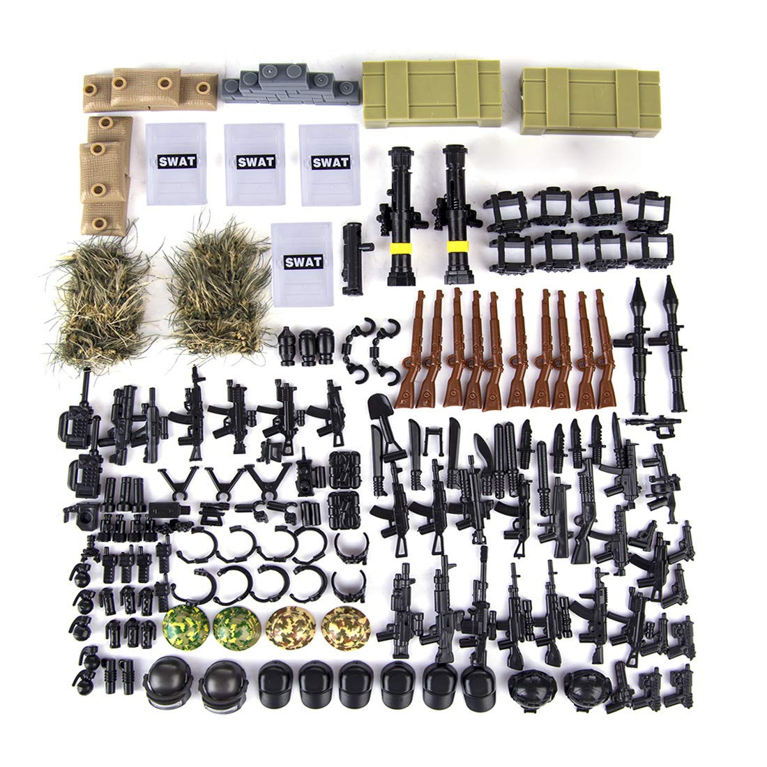 Lingxuinfo Military Accessories Building Compatible