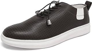 Marc Loire Men Casual Lace-Up Shoes, Faux Leather Sneakers - ML0075110240-P