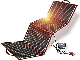 DOKIO Panel Solar 200 Watt Plegable Portátil Monocristalino