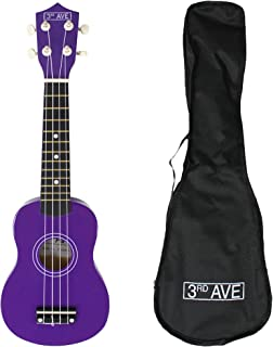 3rd Avenue STX40PU - Ukelele soprano, Púrpura