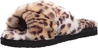 Volcom Women's Lived in Lounge Faux Fur Slide Sandal