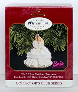 Hallmark Keepsake Ornament Collector's Club 1997 Club Edtion Barbie Ornament