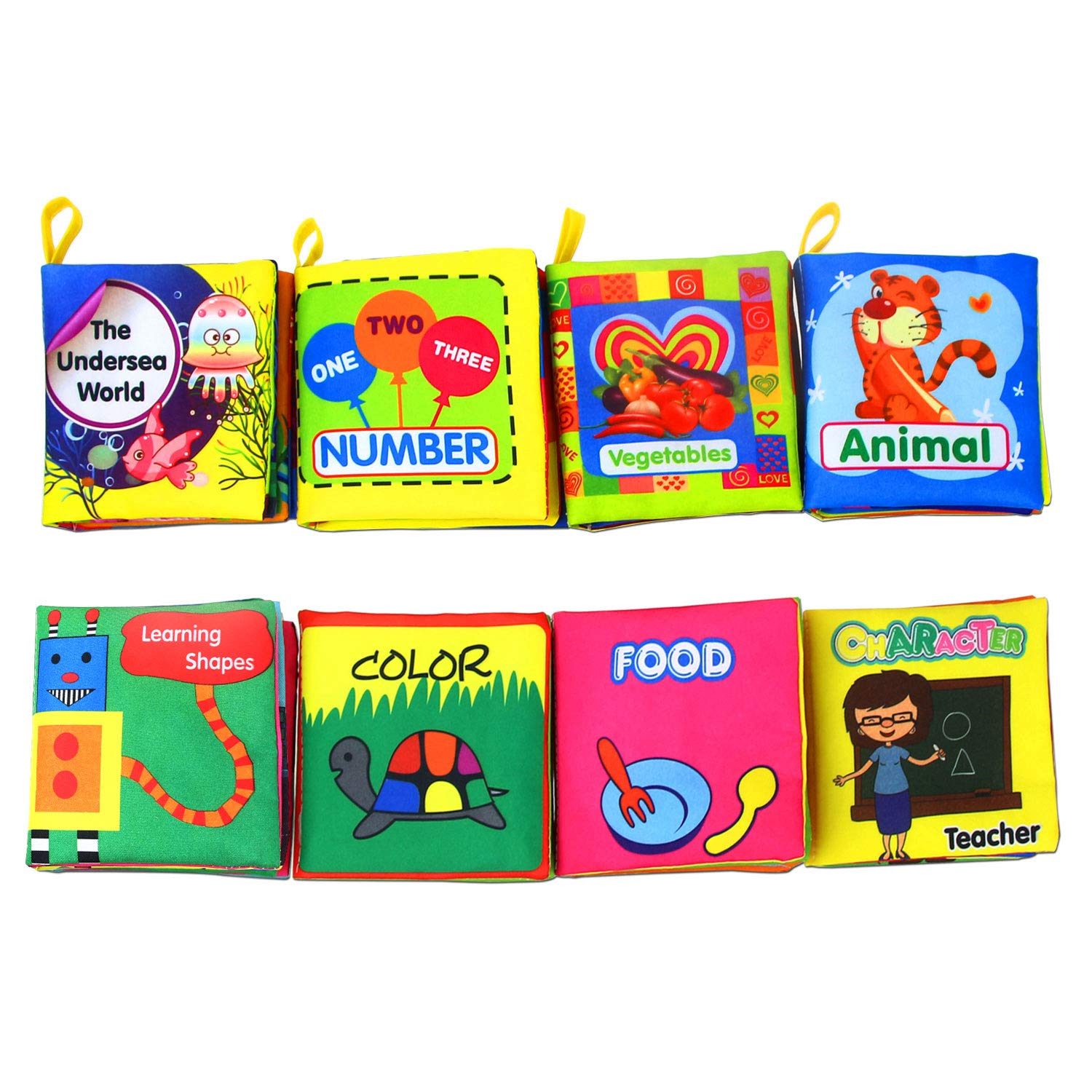 Coolplay Babys Non Toxic Crinkle Colorful