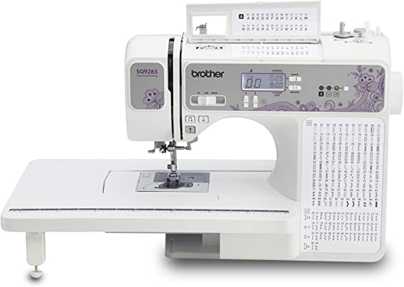 Brother SQ9285 Computerized Sewing and Quilting Machine