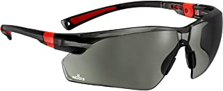 Sponsored Ad - NoCry Work & Sports Safety Sunglasses - with Green Tinted Anti Scratch Wrap-Around Lenses, Non-Slip Grips, ...