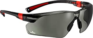 NoCry Work & Sports Safety Sunglasses - with Green Tinted Anti Scratch Wrap-Around Lenses, Non-Slip Grips, UV 400 Protecti...