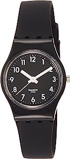 [スウォッチ]SWATCH 腕時計 LADY(レディ) LADY BLACK SINGLE(レディブラックシングル) LB170E レディース 【正規輸入品】