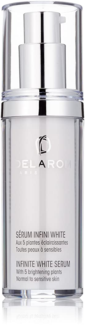 結紮数値操るDELAROM Infinite White Serum - For Normal to Sensitive Skin 30ml/1oz並行輸入品