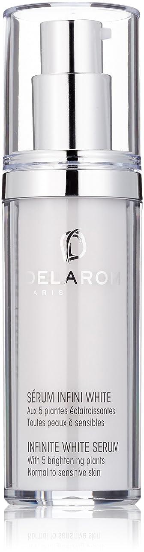 バンガローためにジョグDELAROM Infinite White Serum - For Normal to Sensitive Skin 30ml/1oz並行輸入品