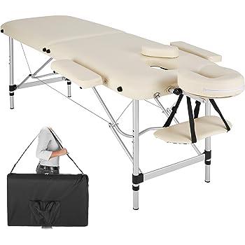 Table De Massage Alu Seulement 10kg Pliante Confort Beaucoup D Accessoires Creme Jaune Amazon Fr Hygiasne Et Soins Du Corps