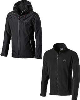 McKinley Herren Outdoor Freizeit Jacke in Daunenoptik KENNY HD schwarz