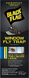 BLACK FLAG WINDOW FLY TRAP 16 PACK (4 PACKAGES WITH 4 TRAPS EA)