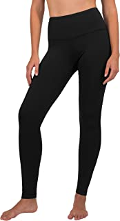 High Waist Fleece Lined Leggings - Yoga Pants