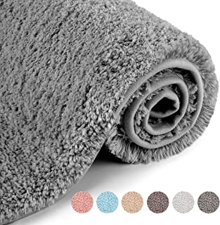 VANZAVANZU Upgraded Soft Absorbent Non Slip Bathroom Rugs 20