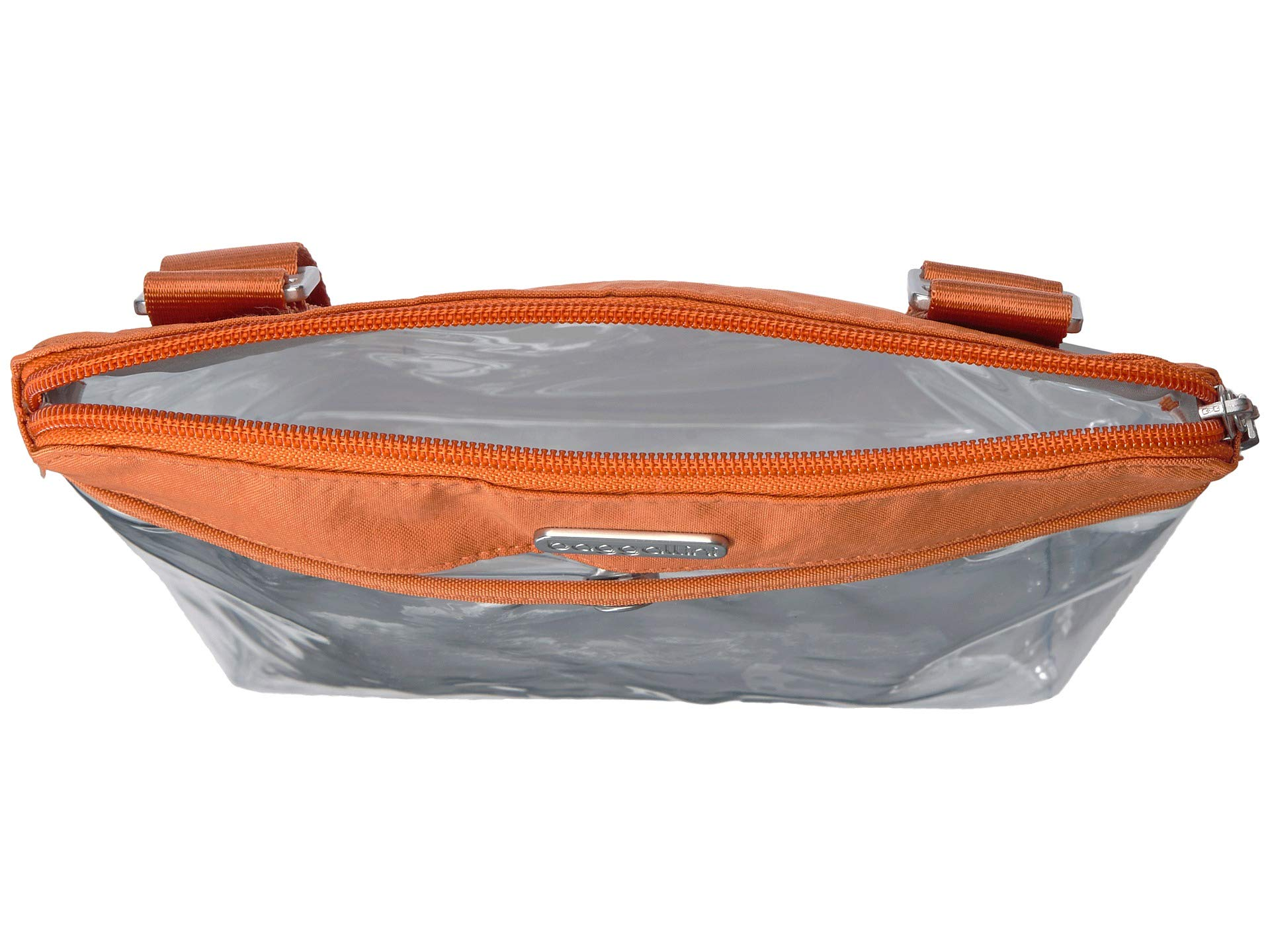 Baggallini Stadium Legacy Bags Orange Pocket Clear Crossbody wqz6Hp