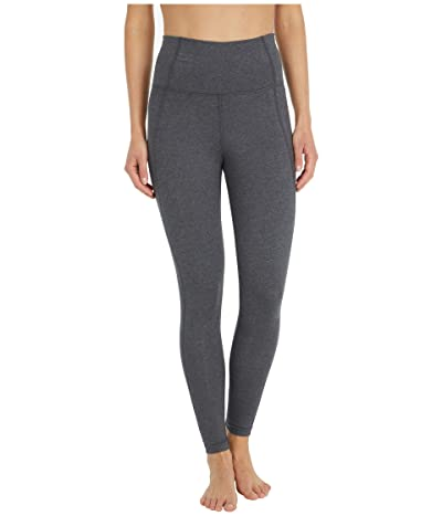 PACT Organic Cotton High-Waist Leggings (Charcoal Heather) Women