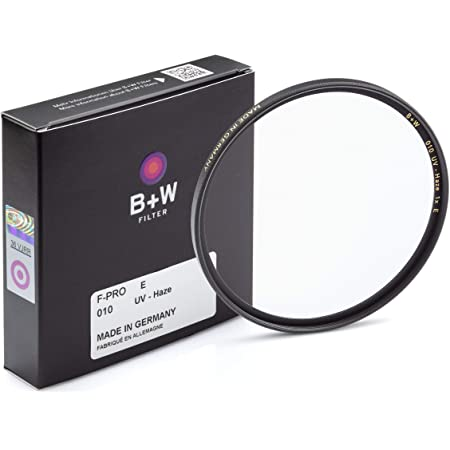 B + W 77mm UV Protection Filter (010) for Camera Lens – Standard Mount (F-PRO), E Coating, 2 Layers Resistant Coating, Photography Filter, 77 mm, Clear Protector