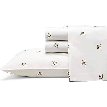 Amazon Com Ed Ellen Degeneres Percale Collection Bed Sheet Set 100 Cotton Oeko Tex Certified Crisp Cool Lightweight Moisture Wicking Bedding Queen Augie Home Kitchen