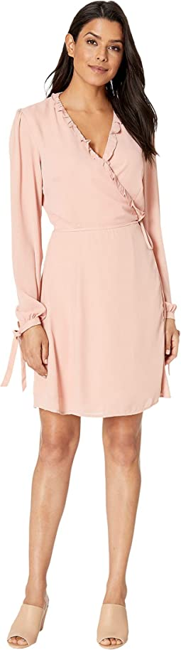 Tatiana Long Sleeve Wrap Dress