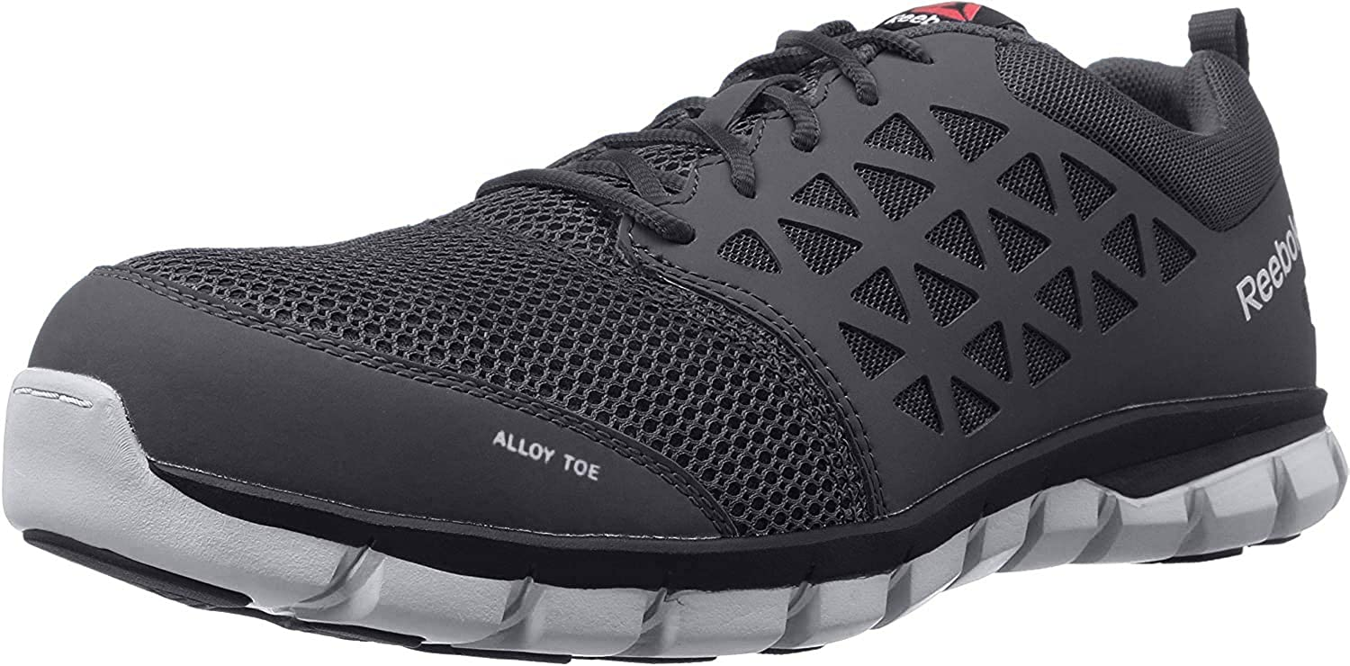 Reebok Men's Sublite Cushion Safety Indus Toe Work Cheap sale Courier shipping free Athletic Shoe