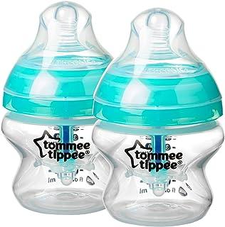 Tommee Tippee - Biberón anticólicos, 147 ml, 2 unidades