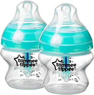 Tommee Tippee Advanced Anti-Colic Baby Bottle, 5 Ounce, 2 Count