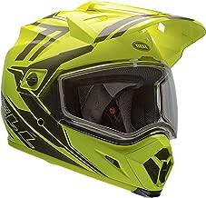 Bell MX 9 Adventure Dual Shield Snow Helmet (Yellow/Titanium, XXX-Large)