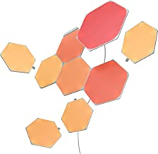 Nanoleaf SHAPES Hexagons Starter Kit - Smart WiFi LED Panel System w/Music Visualizer, Instant Wall Decoration, Home or Of...