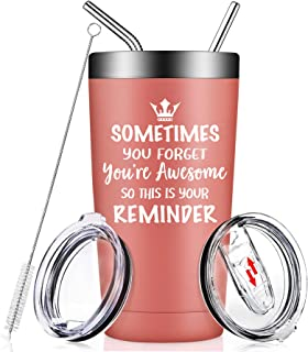 Thank You Gifts for Women - Sometimes You Forget That You Are Awesome - Funny Inspirational Graduation Birthday Gifts for ...