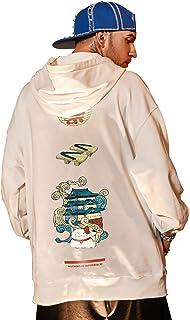 XYXIONGMAO Trendy Cat Hoodies Oversized Couple Street Sweater Japanese Hoodie Male Hip Hop