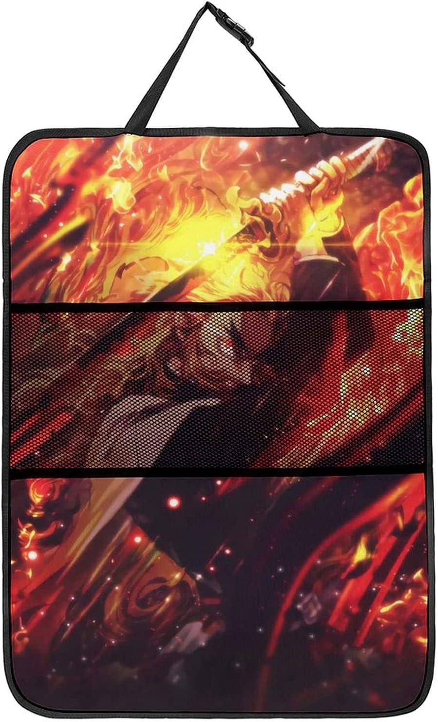 Demon Slayer Phoenix Mall Rengoku Kyoujurou Car Organizer Ma Back Kick Seat - It is very popular
