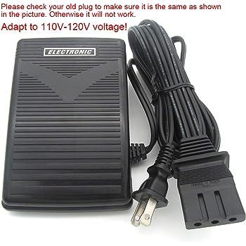 KUNPENG - 1piezas # J00360051 110V 110V Cable de control del pedal ...