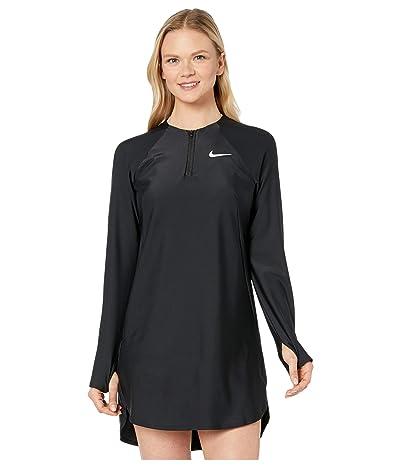 Nike Long Sleeve Swim Tunic Cover-Up (Black) Women